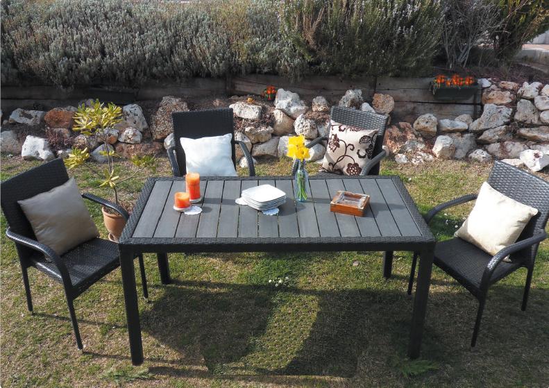 mesas jardin baratas mesa de y sillas de plstico aqu os