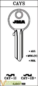 Llave acero jma cay-1i-0