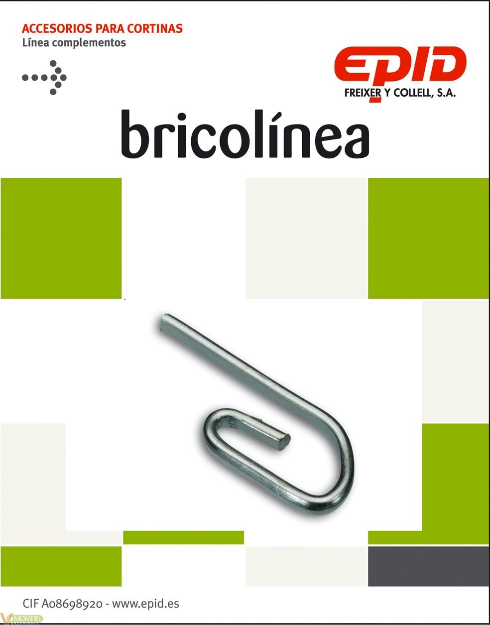 Garfio simple zincado 36 pz-0