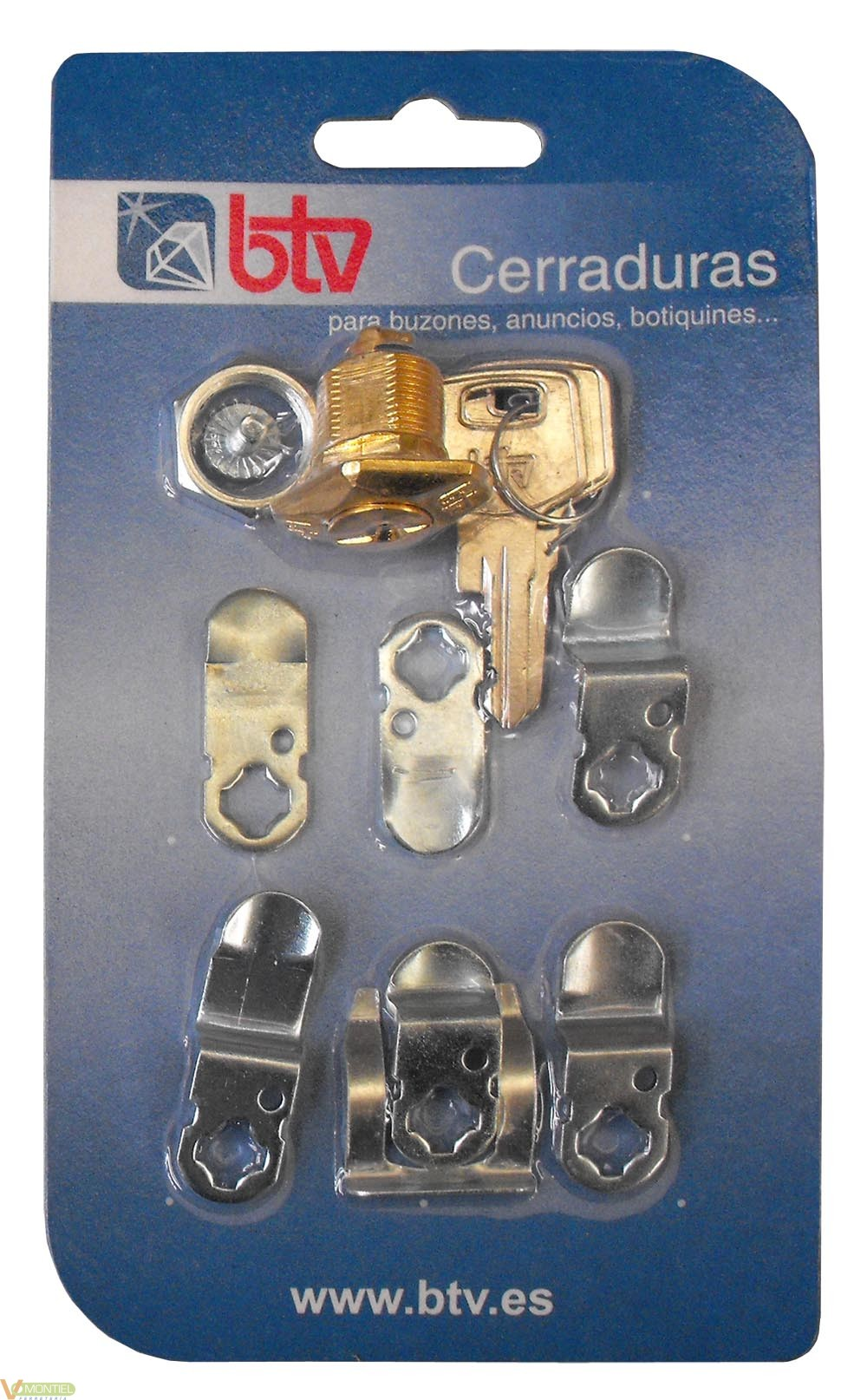 Cerradura buzon 60004 oro-0