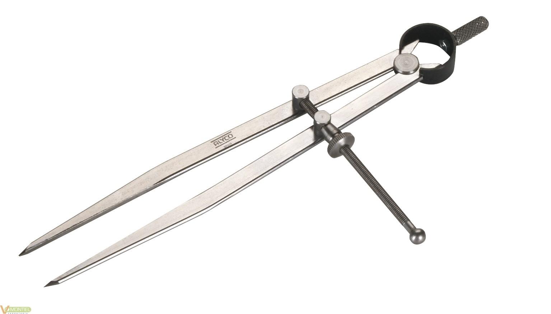 Compas con muelle c/tuerc. 150-0
