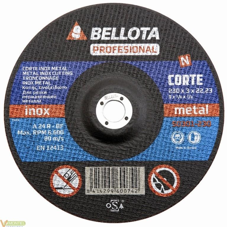 Disco corte 230x3x22 mm-0