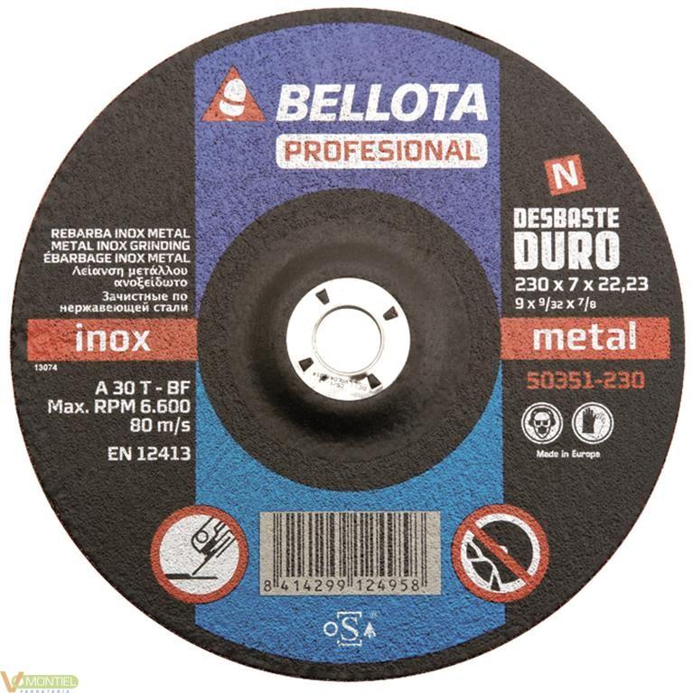 Disco desbaste 230x7x22 mm-0