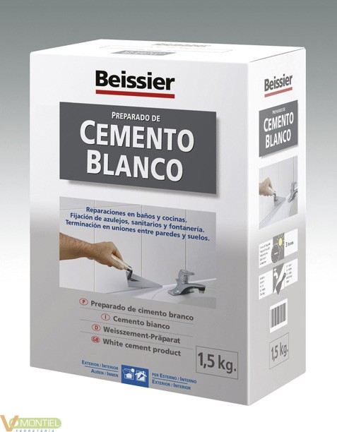 Cemento rest. blanco 70163-002-0