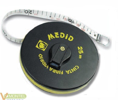 Cinta metrica 30mt-15,0mm medi-0