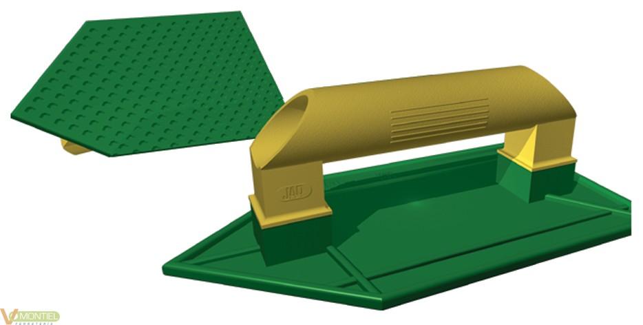 Talocha angular 265x140mm jar-0