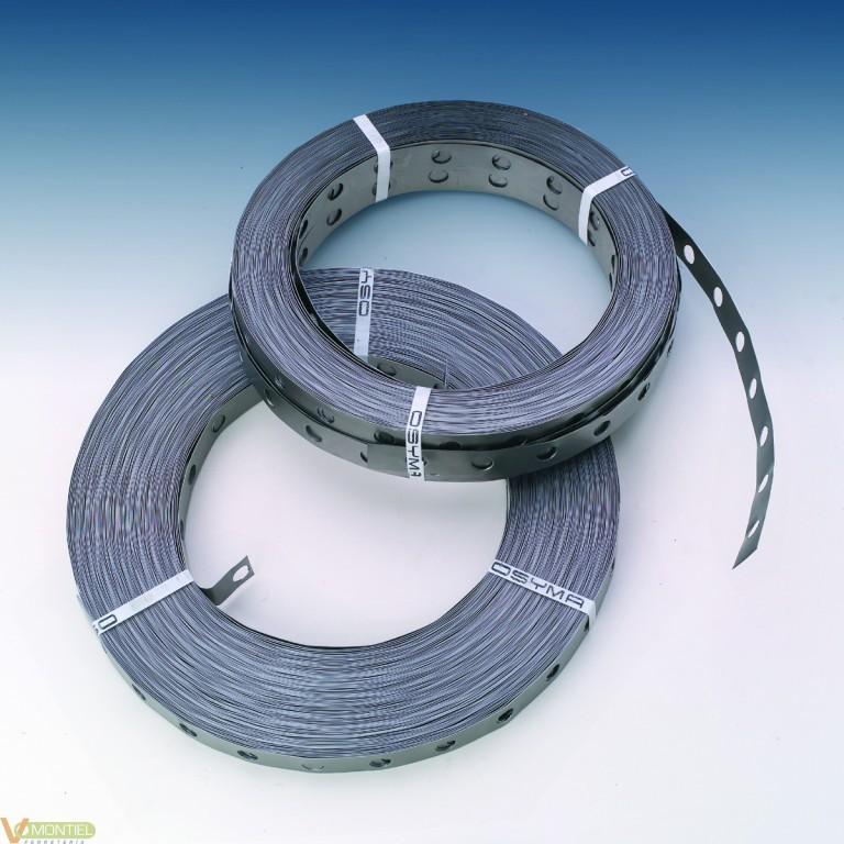 Fleje metal perf 0,7mm(2x50mt)-0
