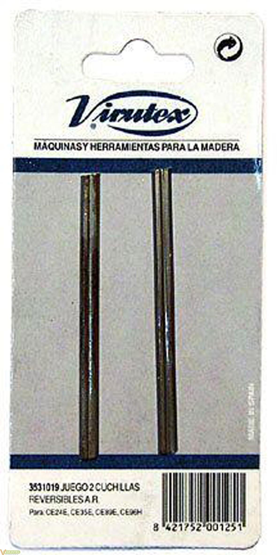 Cuchilla revers. p/ce35e 080mm-0