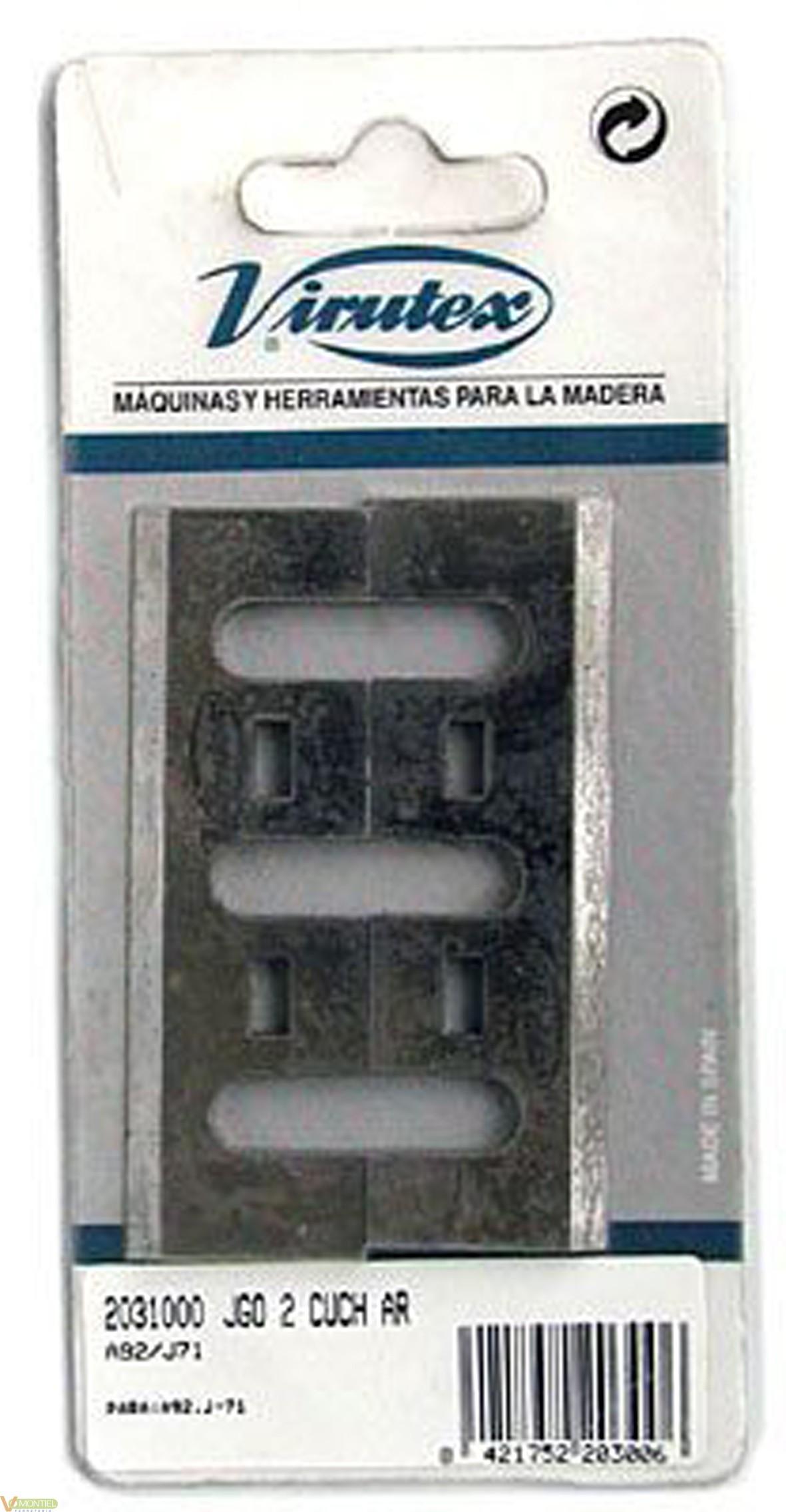 Cuchilla cepillo elec. hss-0