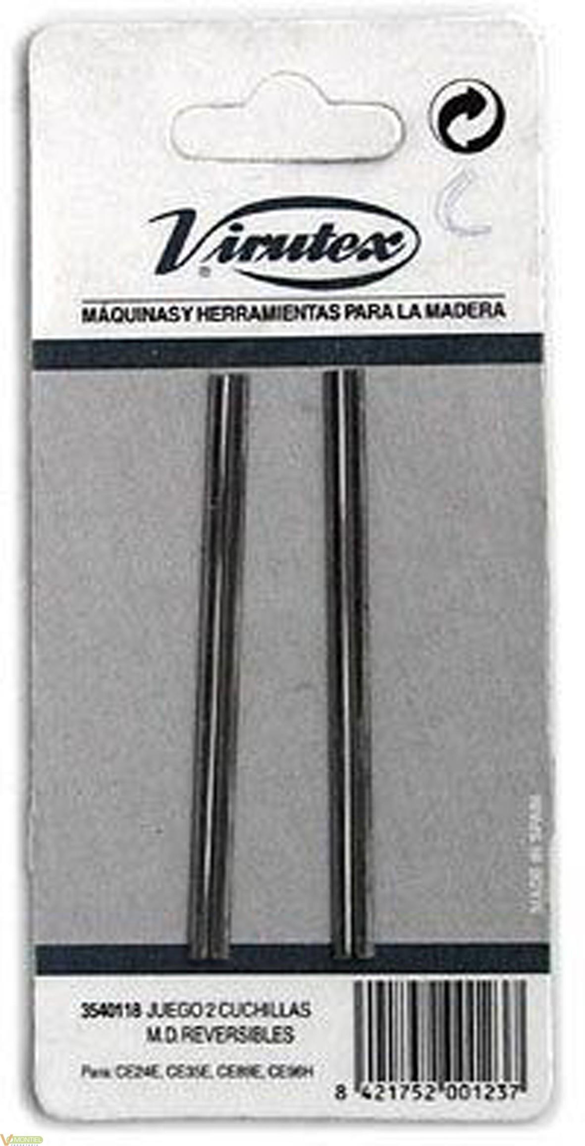 Cuchilla cepillo elec. m/duro-0