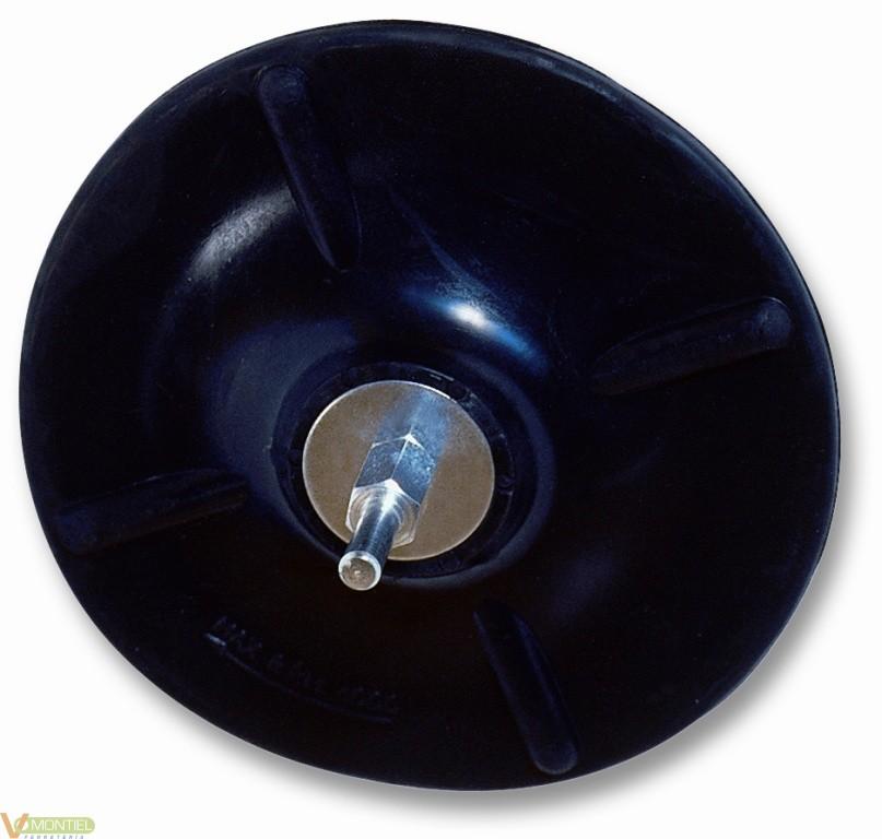 Plato sop 125x6 mm goma 663380-0
