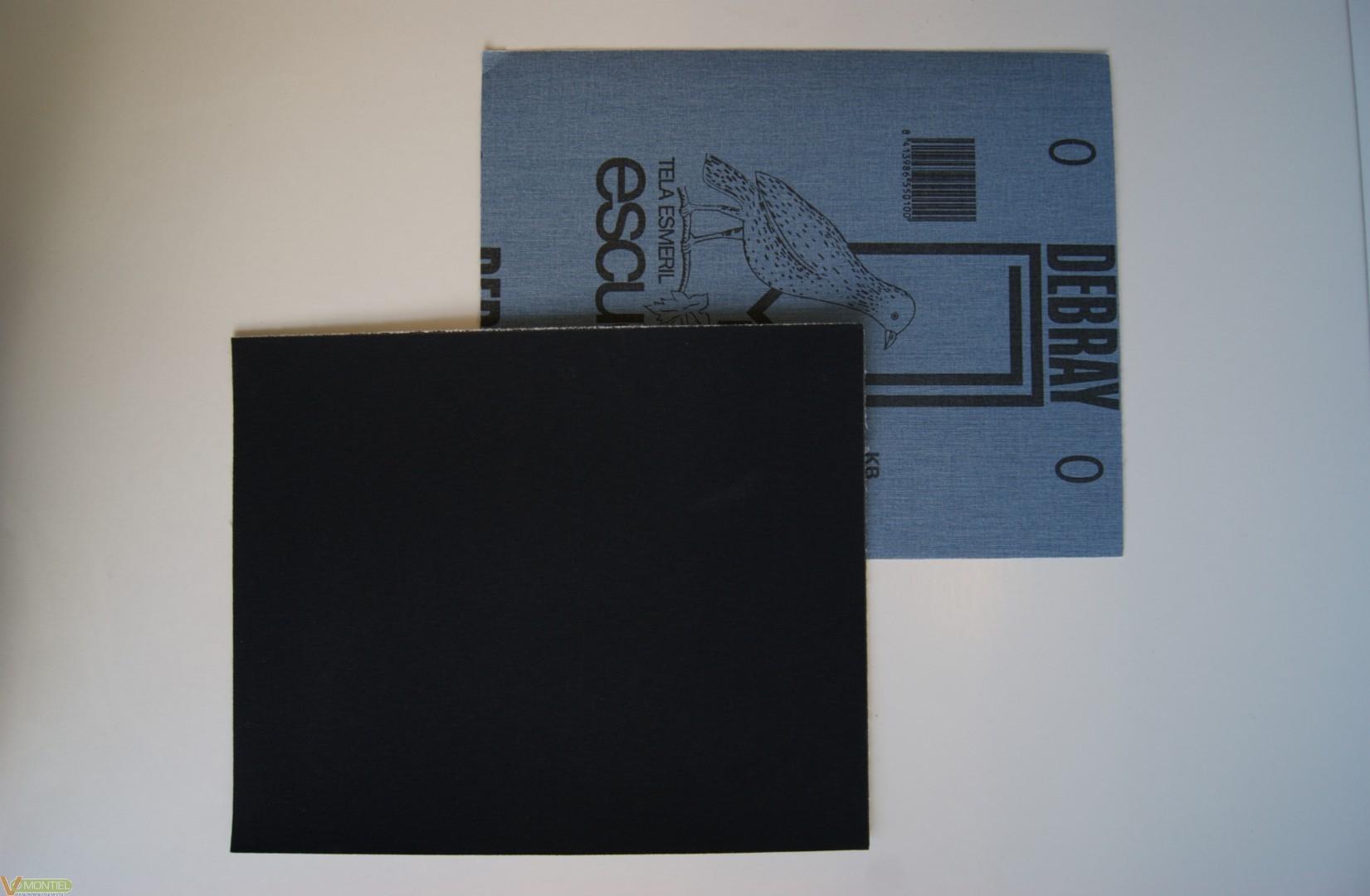 Lija tela esmeril esc 230 mm x-0
