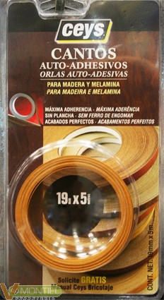 Canto madera roble 850202 5 mt-0