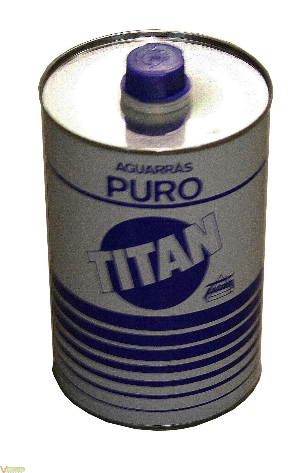 Aguarras puro 1 lt titan-0