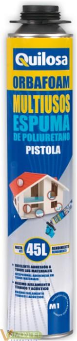 Espuma poliur. orbafoam 41533-0
