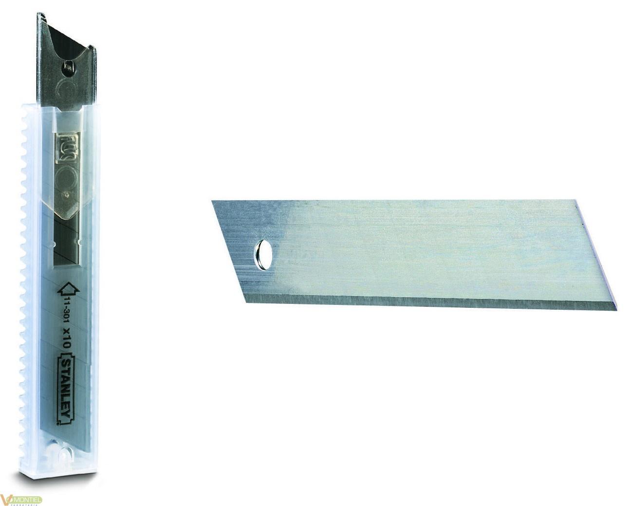 Cuchilla cutter 18mm 10 pz 0-1-0