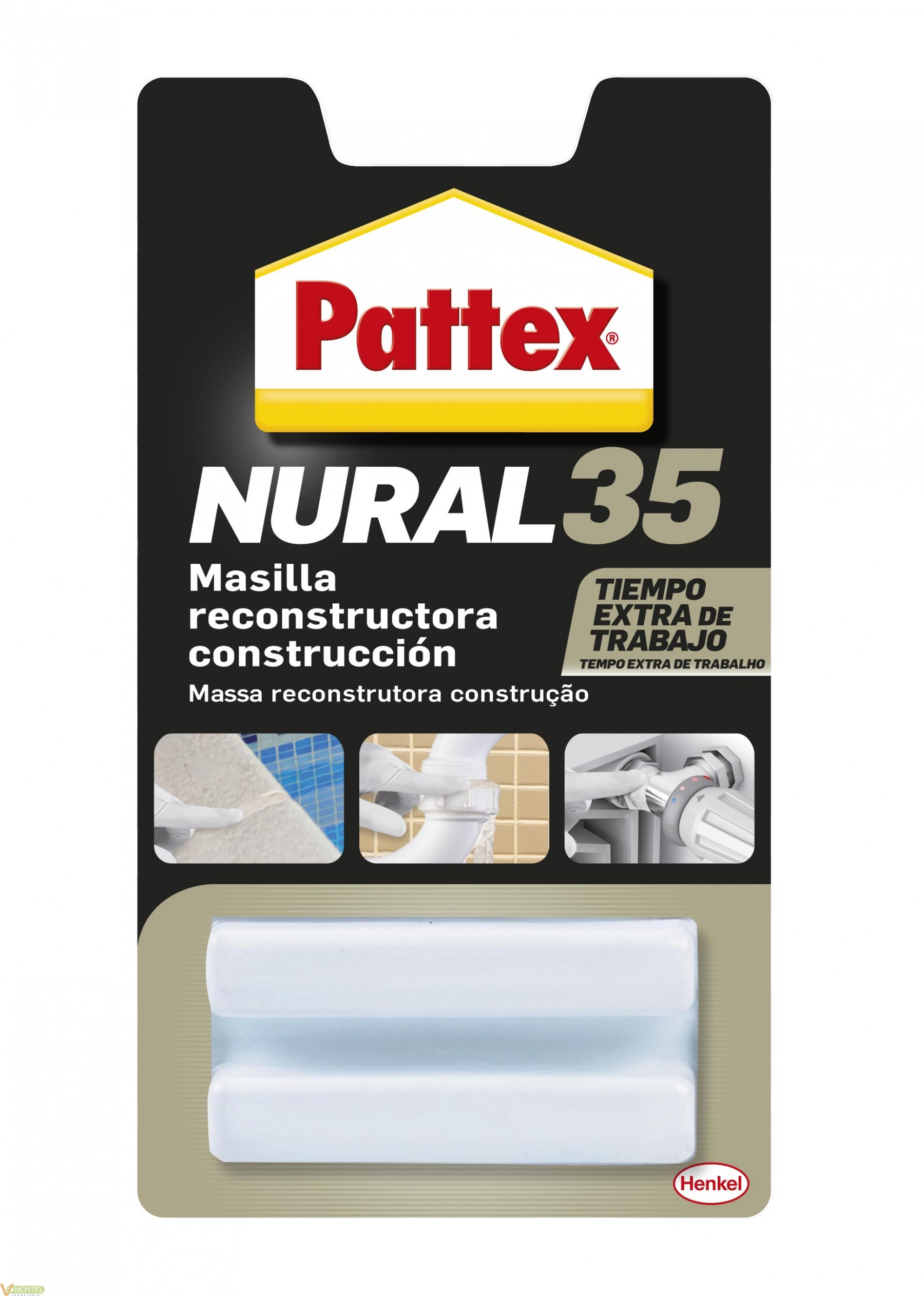 Masilla const. acril. 50 gr-0