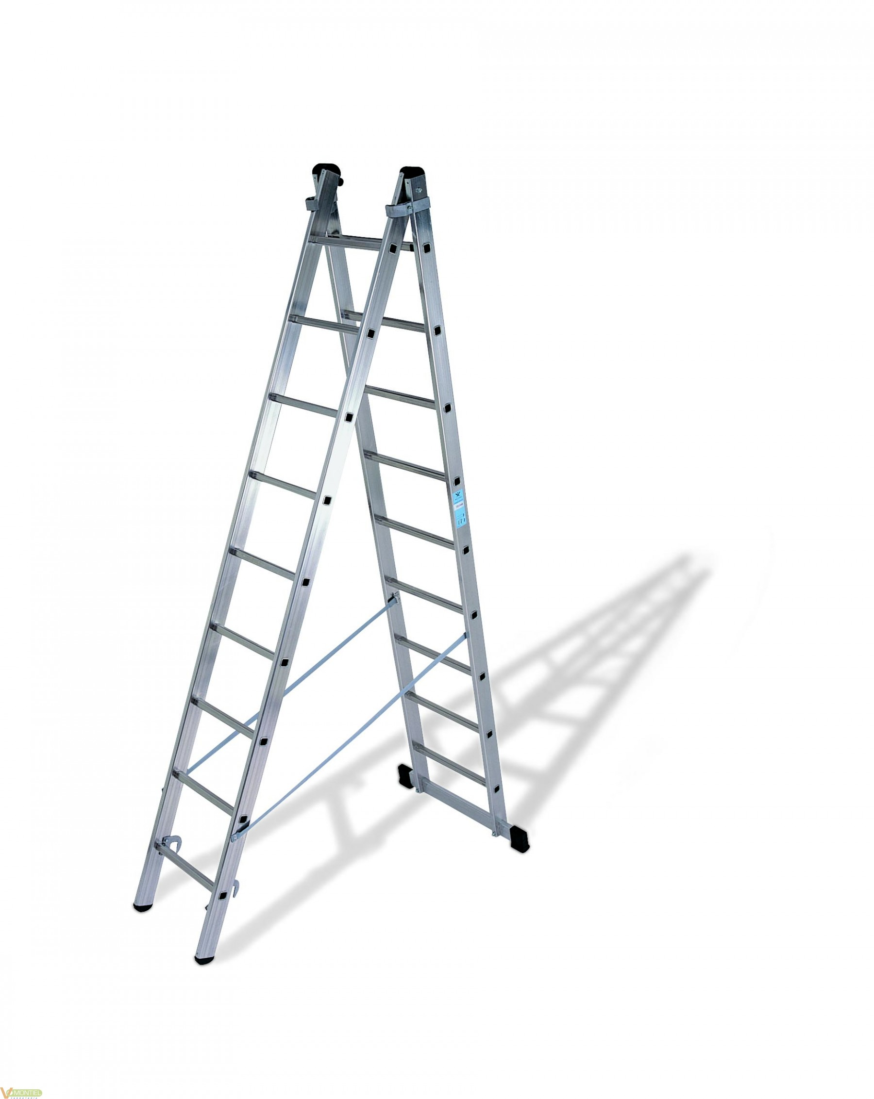 Escalera doble c/base 9x2 4,48-0
