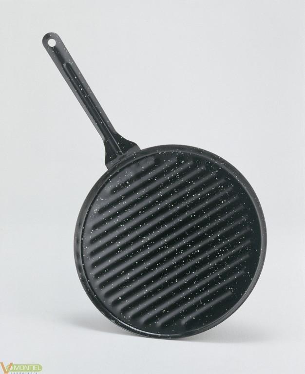 Grill plancha 24x24cm la ideal-0