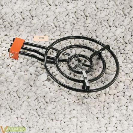 Paellero 3 fuegos 60cm m600-0