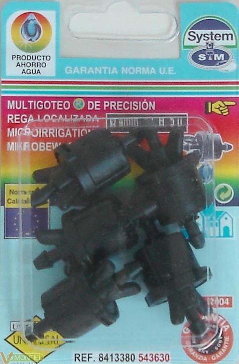Gotero goteo intermedio 5 pz-0