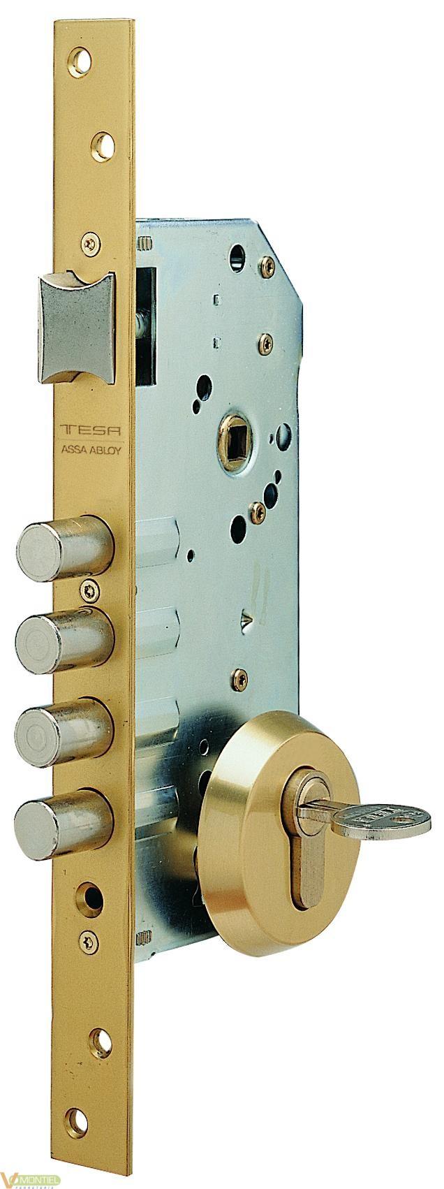 Cerradura seg. 1p 50mm r100b56-0