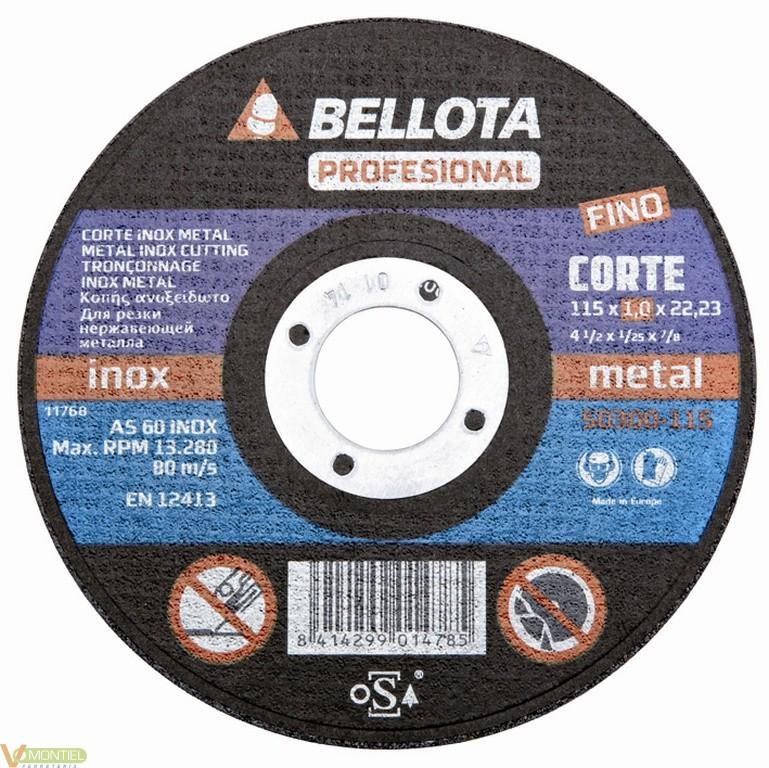 Disco corte 115x1x22 mm-0