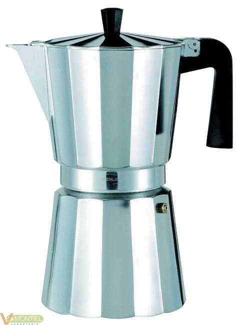 Cafetera italiana 12tz alu oro-0