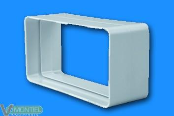 Manguito tubo rectangular ign/-0