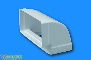 Codo vert ign/aut 110x55mm sis-0