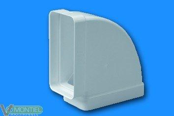 Codo tubo rectangular ign/aut-0