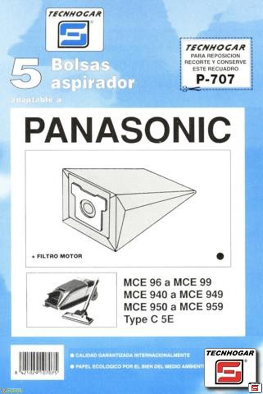 Bolsa asp panasonic mc90 5 pz-0