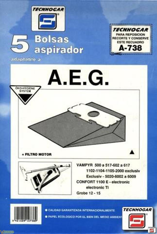 Bolsa asp aeg grobe-12 5 pz 91-0