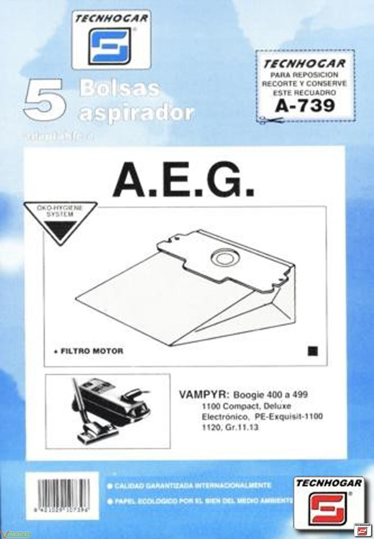 Bolsa asp aeg grobe-13 5 pz 91-0