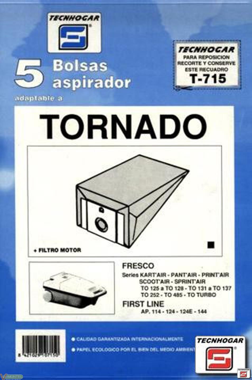 Bolsa aspi.tornado kart 5p.715-0