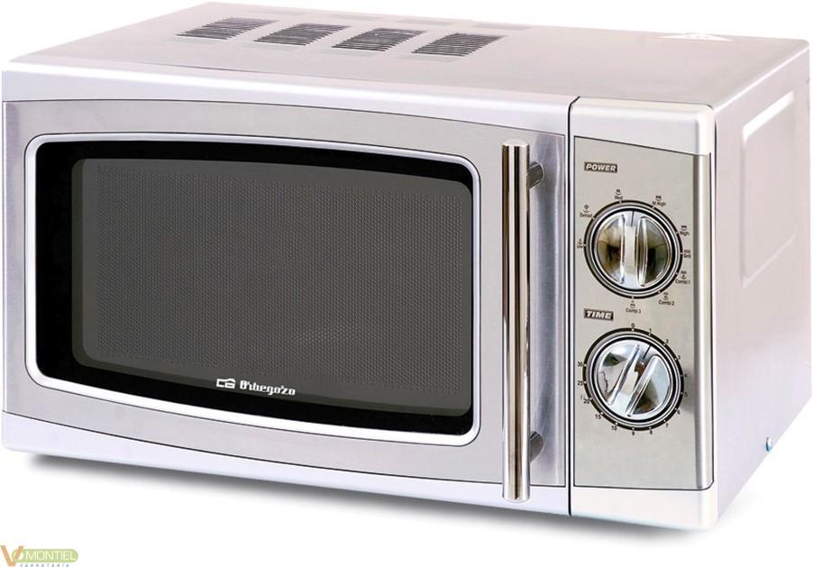 Microondas c/grill a/inox-2011-0