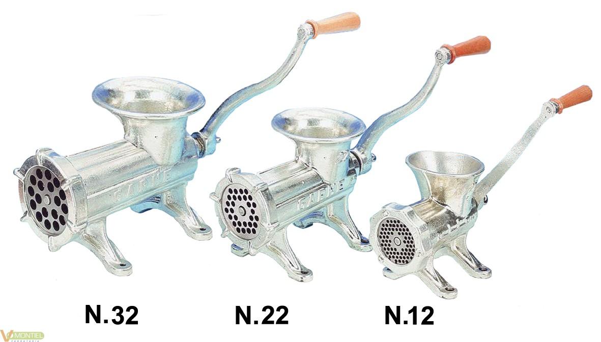 Picadora carne man. n32-0