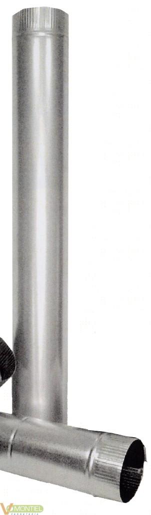 Tubo estufa 150mm ac-0