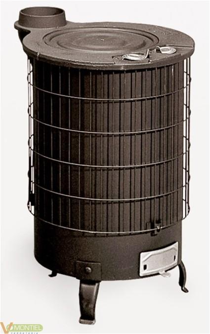 Estufa leña 600x383 mm ne 6500-0