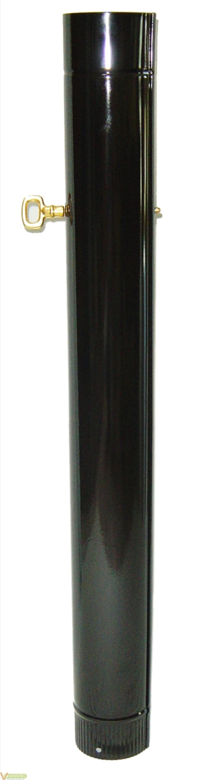 Tubo estufa con llave 120mm a/-0