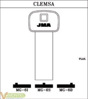 Llave plastico jma mg-6s-0