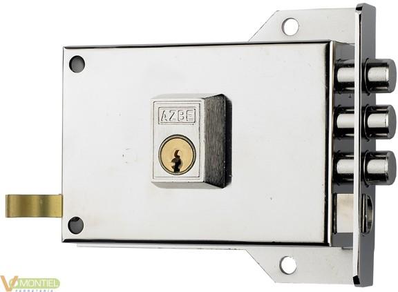 Cerradura sobr. 120x60mm 70dhn-0