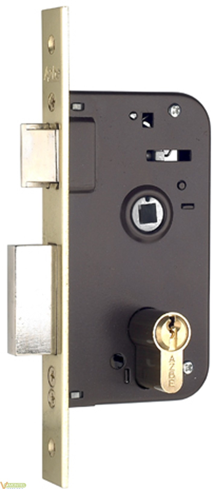 Cerradura c/cu 23x35mm 6006035-0