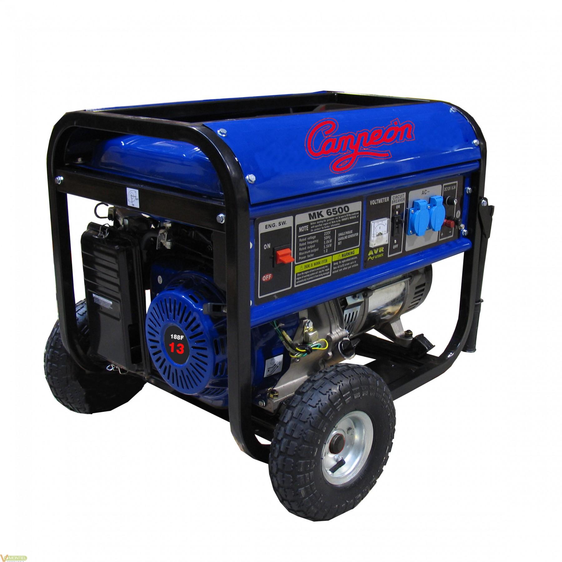 Generador gas. 13 cv 5kva 25lt-0