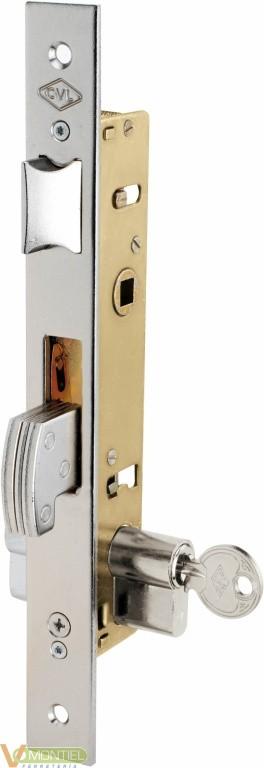 Cerradura metalica embutir 25x-0
