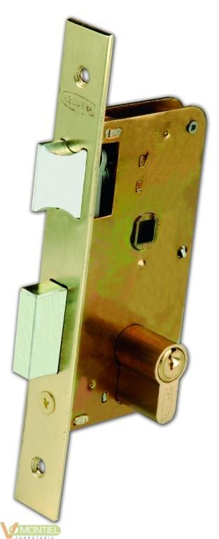 Cerradura c/cu 23x60mm 3100-60-0