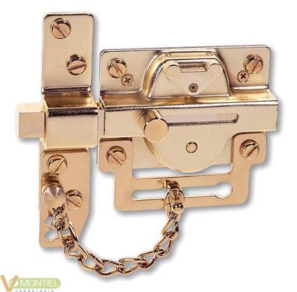 Cerrojo seguridad sin cadena l-0