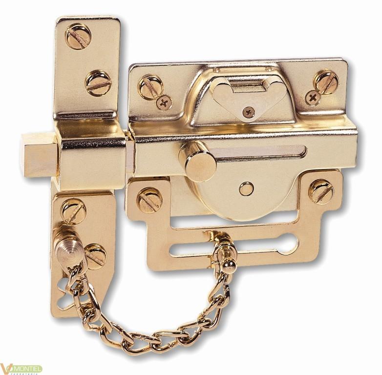 Cerrojo seguridad con cadena 5-0