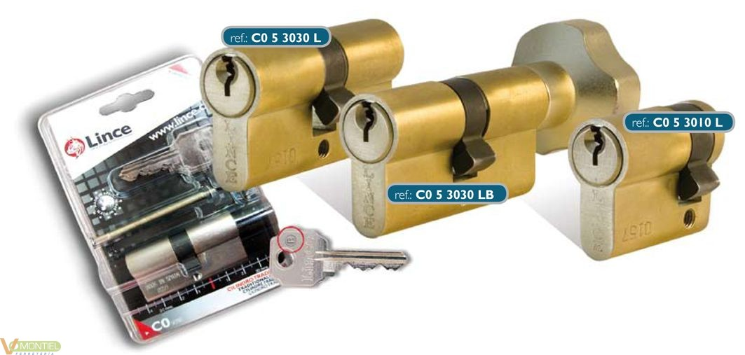 Cilindro 30x10mm c053010n niq-0