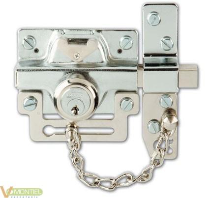 Cerrojo seguridad sin cadena 5-0